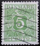 Poštovní známka Dánsko 1930 Doplatní Mi# 20