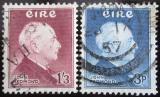 Poštovní známky Irsko 1957 John E. Redmond Mi# 128-29 Kat 28.50€