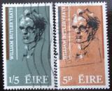 Poštovní známky Irsko 1965 William B. Yeats Mi# 172-73