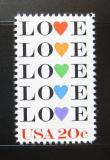 Poštovní známka USA 1984 Láska Mi# 1677