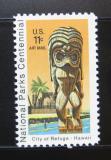 Poštovní známka USA 1972 Národní parky, Hawai Mi# 1067
