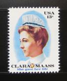 Poštovní známka USA 1976 Clara Maass, zdravotní sestra Mi# 1286