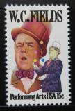 Poštovní známka USA 1980 W. C. Fields, komik Mi# 1410