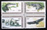 Poštovní známky USA 1971 Ochrana přírody Mi# 1037-40