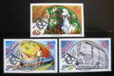 Poštovní známky Rakousko 1993-94 Rakouský pop, komplet Mi# 2092,2106,2120