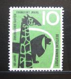 Poštovní známka Německo 1958 Fauna Mi# 288