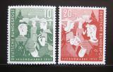 Poštovní známky Německo 1952 Mládež a hostel Mi# 153-54 Kat 40€