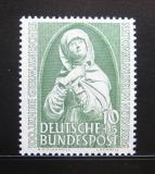 Poštovní známka Německo 1952 Norimberská madona Mi# 151 Kat 17€