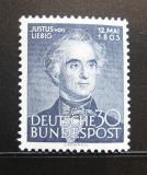 Poštovní známka Německo 1953 Justus von Liebig Mi# 166 Kat 40€