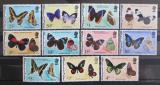 Poštovní známky Belize 1974 Motýly Mi# 330,334-39,341-44 Kat 55.20€