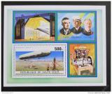Poštovní známka Horní Volta 1976 Vzducholodě Mi# Block 42
