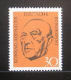 Poštovní známka Německo 1968 Prezident Konrad Adenauer Mi# 567
