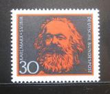 Poštovní známka Německo 1968 Karel Marx Mi# 558