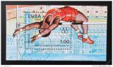 Poštovní známka Kuba 1990 LOH Barcelona Mi# Block 118