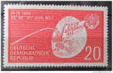 Poštovní známka DDR 1959 Raketa Lunik 2 Mi# 721