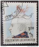 Poštovní známka Lichtenštejnsko 2006 W. A. Mozart Mi# 1427