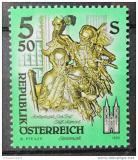 Poštovní známka Rakousko 1993 Umělecká díla, kostely Mi# 2094