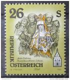 Poštovní známka Rakousko 1995 Umělecká díla, kostely Mi# 2170