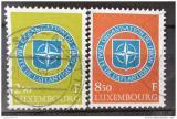 Poštovní známky Lucembursko 1959 NATO, 10. výročí Mi# 604-05