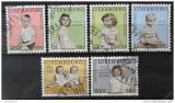 Poštovní známky Lucembursko 1962 Princezna a princ Mi# 660-65