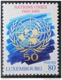Poštovní známka Lucembursko 1995 OSN, 50. výročí Mi# 1372
