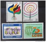 Poštovní známky Lucembursko 1996 Výročí Mi# 1392-95