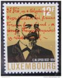 Poštovní známka Lucembursko 1989 Caspar M. Spoo Mi# 1214