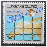 Poštovní známka Lucembursko 1989 Televizní satelit ASTRA Mi# 1218