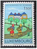 Poštovní známka Lucembursko 1967 Hostely pro mládež Mi# 753