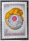 Poštovní známka Lucembursko 1967 Výročí Lions Intl. Mi# 750