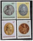 Poštovní známky Lucembursko 1985 Medaile Mi# 1117-20