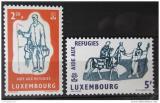 Poštovní známky Lucembursko 1960 Rok uprchlíků Mi# 618-19