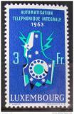 Poštovní známka Lucembursko 1963 Telefonní automaty Mi# 683