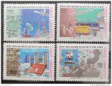 Poštovní známky Turecko 1990 Metody komunikace Mi# 2910-13