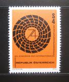 Poštovní známka Rakousko 1974 Dopravní kongres Mi# 1453