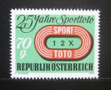 Poštovní známka Rakousko 1974 Rakouská loterie Mi# 1468