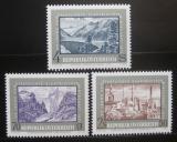 Poštovní známky Rakousko 1972 Elektrárny Mi# 1389-91