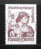 Poštovní známka Rakousko 1972 Výstava gotického umění Mi# 1393