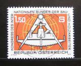 Poštovní známka Rakousko 1978 Kongres stavitelů Mi# 1579