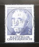 Poštovní známka Rakousko 1978 Leopold Kunschak, politik Mi# 1569