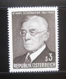 Poštovní známka Rakousko 1967 Dr. Karl Schonherr, spisovatel Mi# 1234