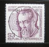 Poštovní známka Rakousko 1983 Josef Matthias Hauer, skladatel Mi# 1733