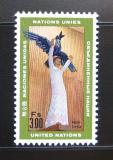 Poštovní známka OSN Ženeva 1969 Socha, Henrik Starcke Mi# 8
