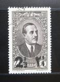 Poštovní známka Libanon 1938 Prezident Edde přetisk Mi# 244 a