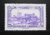 Poštovní známka Libanon 1940 Ruiny Baalbek Mi# 235