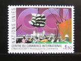 Poštovní známka OSN Ženeva 1990 Mezinárodní obchodní centrum Mi# 182