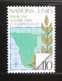 Poštovní známka OSN Ženeva 1979 Za nezávislost Namíbie Mi# 85