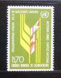 Poštovní známka OSN Ženeva 1976 Zasedání potravinové rady Mi# 62