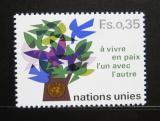 Poštovní známka OSN Ženeva 1978 Strom míru Mi# 72