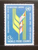 Poštovní známka OSN New York 1976 Potravinová rada Mi# 301